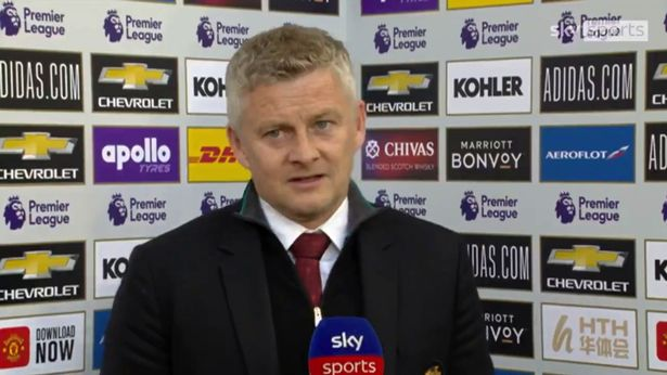 Ole Gunnar Solskjaer briefly discussed Manchester United's transfer plans.