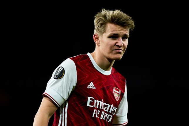 Martin Odegaard has spent the second half of the season on loan at Arsenal from Real Madrid