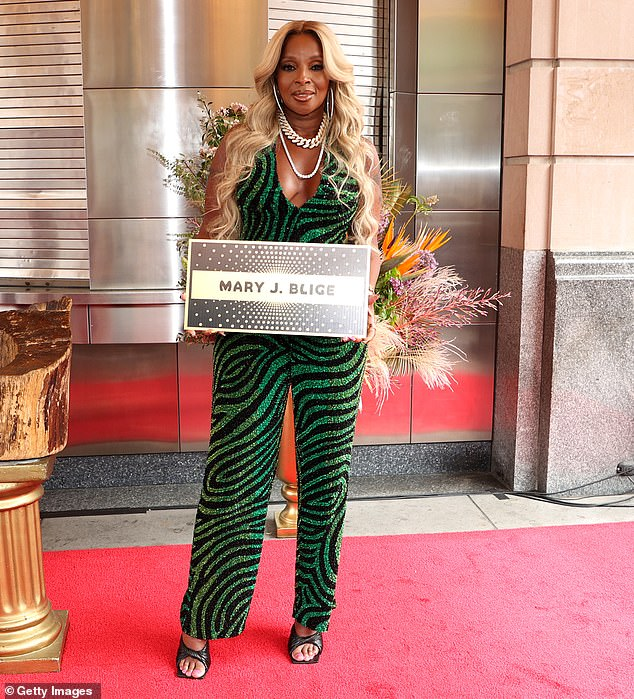 Congratulations!Mary J. Blige's storied career was immortalized on Friday as the R&B queen was inducted into the Walk of Fame at the legendary Apollo Theater