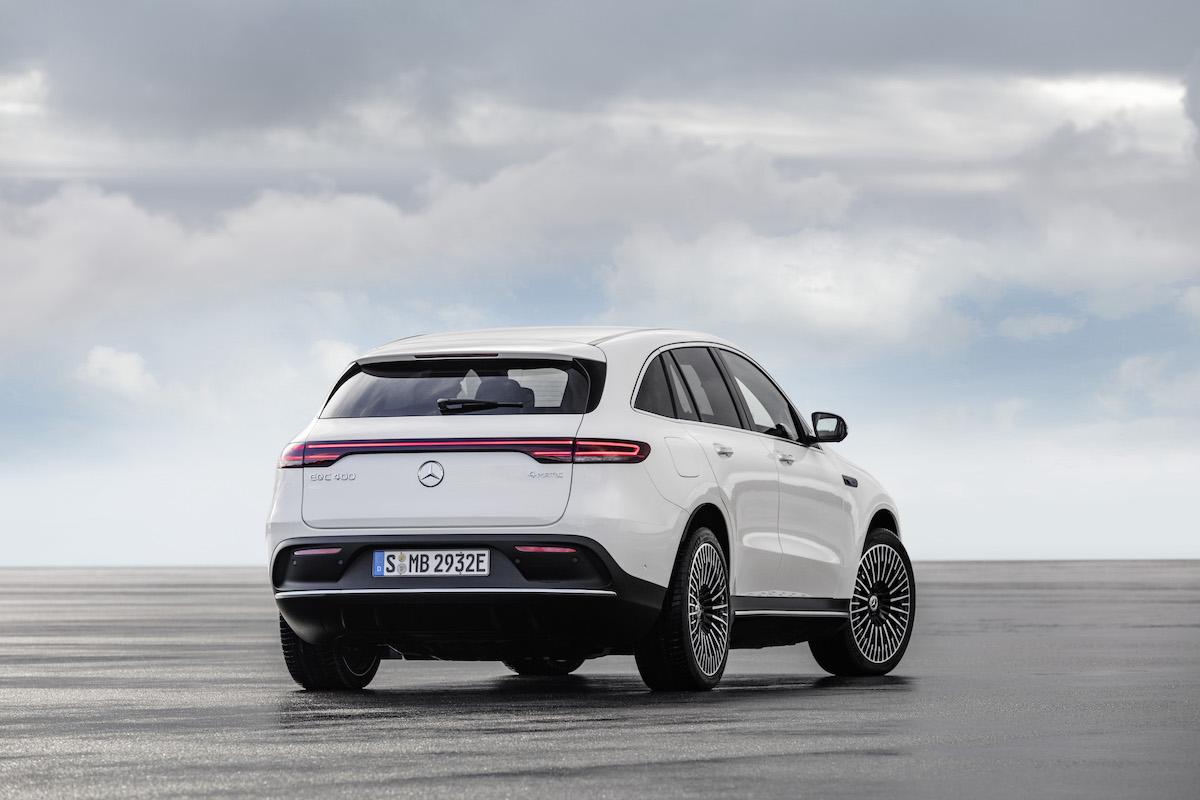 Mercedes-Benz EQC 2021: rear view