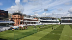 Lord's before Middlesex's game against Gloucestershire