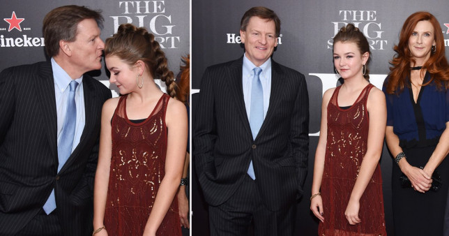 Michael Lewis with daughter Dixie.