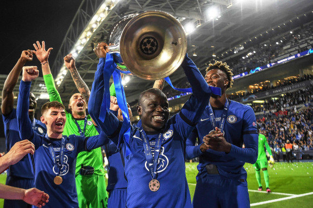 N'Golo Kante and Chelsea beat Man City to win the Champions League