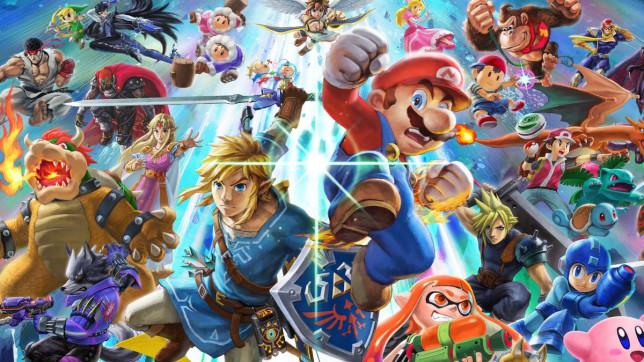 Super Smash Bros. Ultimate key art