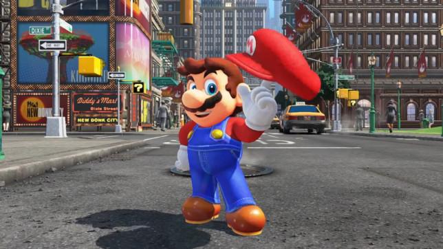 Super Mario Odyssey - Mario gets real