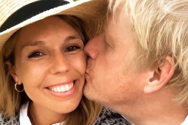 Carrie Symonds and Boris Johnson were married at a small ceremony at Westminster Cathedral