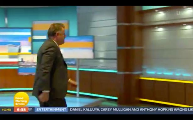 Piers Morgan storms off