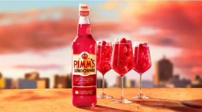 Pimm's Launches New Raspberry And Redcurrant Sundowner Flavour