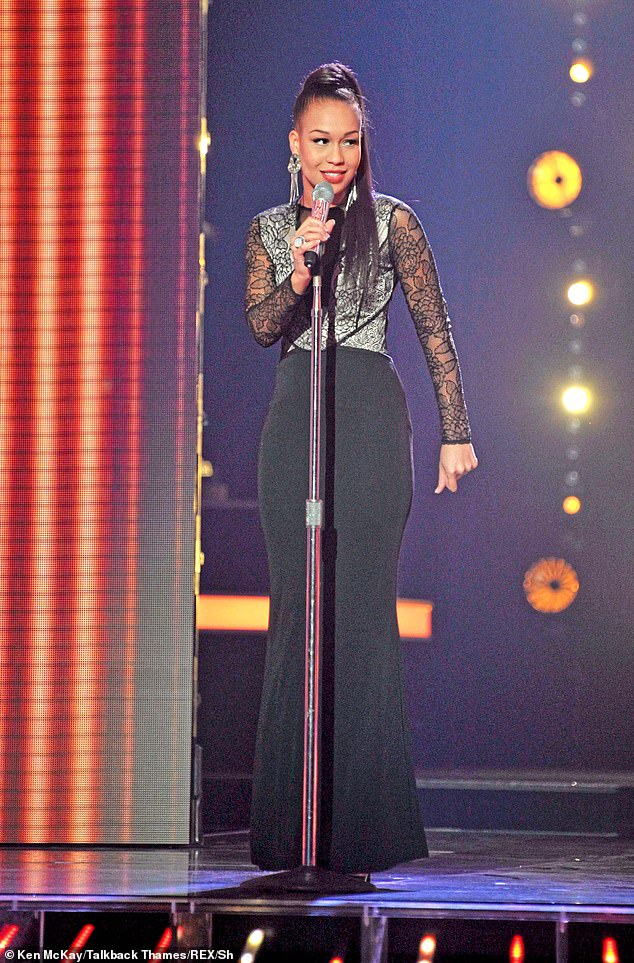 Ordeal: X Factor star Rebecca Ferguson has revealed she suffered a miscarriage while taking part on the ITV talent show