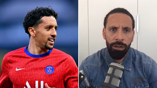 Rio Ferdinand urges Manchester United and Chelsea to sign 'next level' PSG centre-back Marquinhos