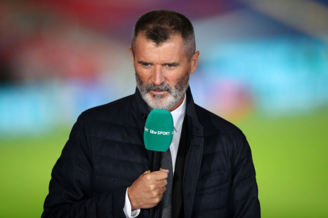 Roy Keane looks on following the international friendly match between England and Wales at Wembley Stadium on October 08, 2020 in London, England. Sporting stadiums around the UK remain under strict restrictions due to the Coronavirus Pandemic as Government social distancing laws prohibit fans inside venues resulting in games being played behind closed doors.