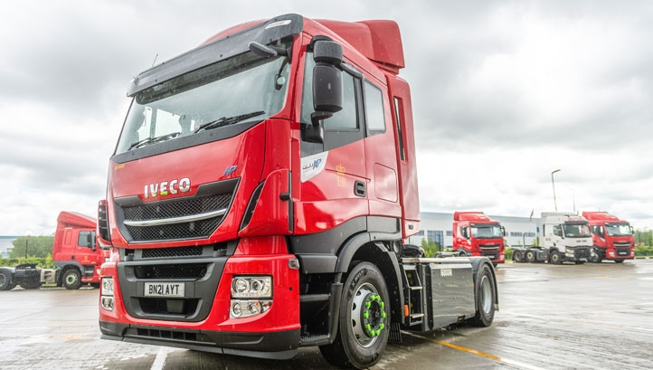 HGVs account for 4.2% of UK carbon emissions