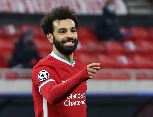Mohamed Salah earned a place in UEFA's XI after scoring six times for Liverpool
