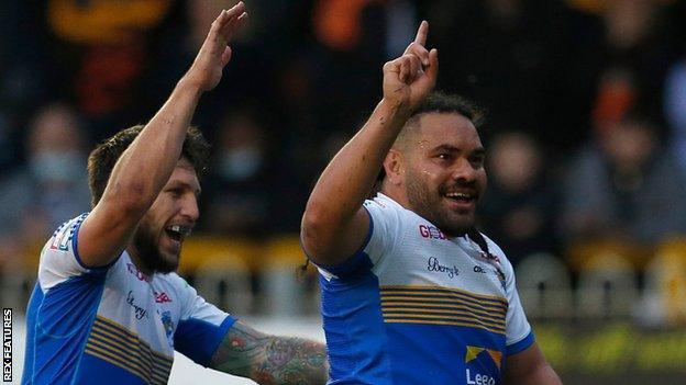 Leeds Rhinos dominant win against Castleford Tigers was just their third in Super League so far this season