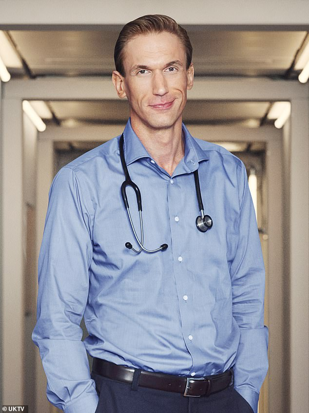 Depression: Celebrity doctor Christian Jessen, 44, who appears onEmbarrassing Bodies has said he is facing bankruptcy after being ordered to pay £125,000 in libel damages