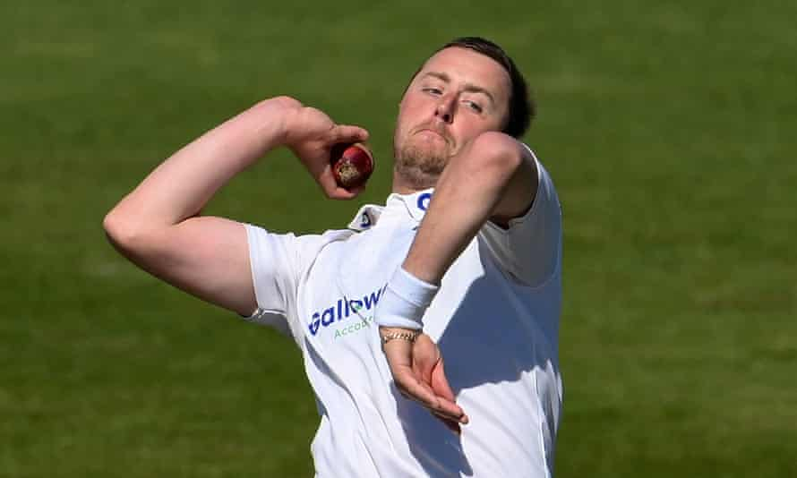 Uncapped pace bowler Ollie Robinson, pictured in action for Sussex, could get his chance at Lord's.
