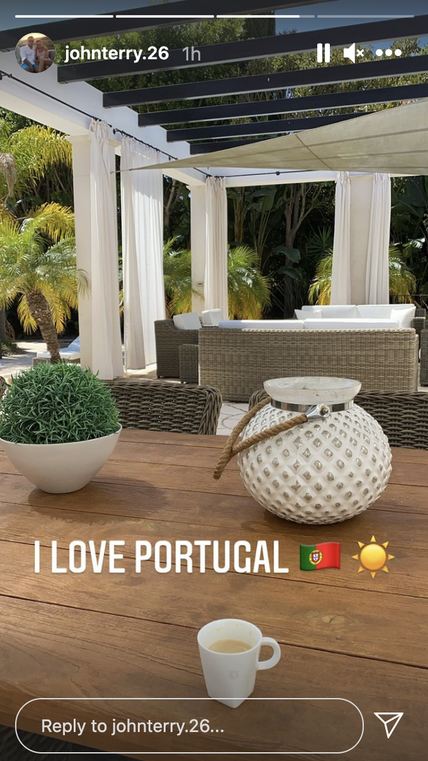 John Terry has made his way to Portugal
