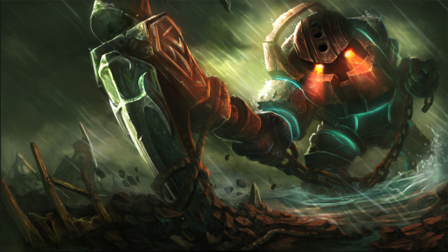 League of Legends Nautilus splash art