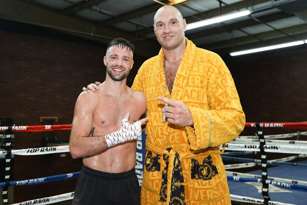 Josh Taylor and Tyson Fury have been training for big title fights