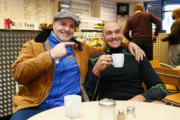 John and Tyson Fury share a close bond - but 'big John' isn't sure he should fight Wilder