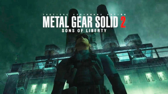 Metal Gear Solid 2 title screen