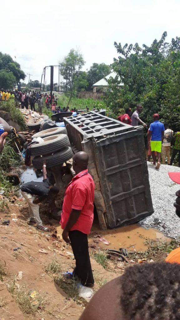 A road accident in Nigeria: West Africa leads the world