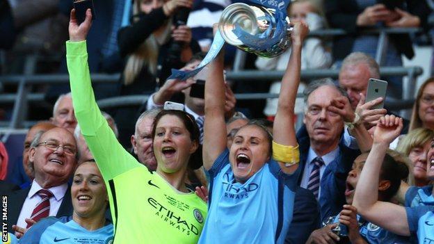 Manchester City win FA Cup