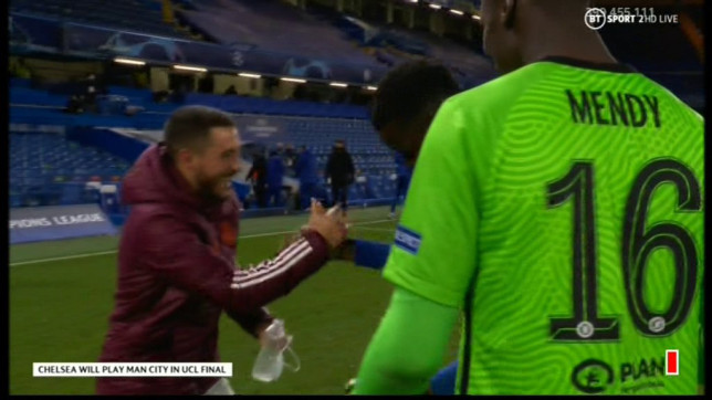 Eden Hazard angered Real Madrid after he was laughing and joking following their Champions League exit