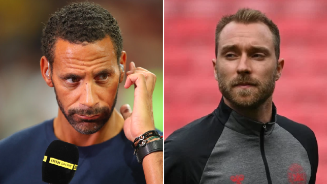 Rio Ferdinand offers advice to Christian Eriksen after collapse