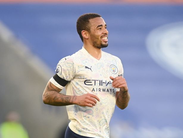Manchester City ace Gabriel Jesus could be up for sale this summer