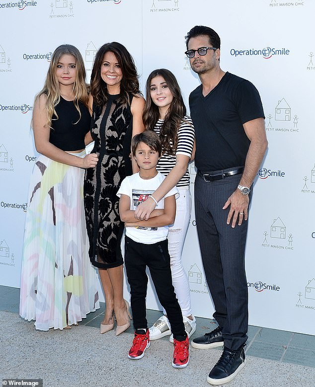 The kids:and has four children: Neriah, 20, Sierra, 18, Heaven, 14, and Shaya, 12. Seen in 2015 with Dave Charvet, whom she divorced in 2020