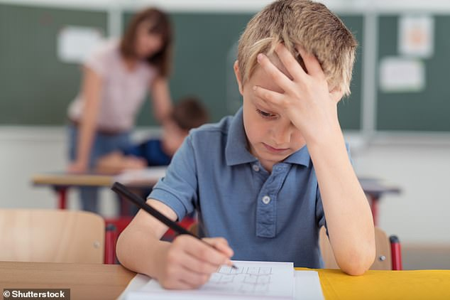 Summer-born children, particularly boys, are much more likely to be given the SEND label by the end of their primary school career (stock image)