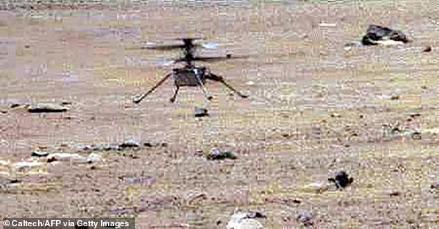 The NASA team are now planning a seventh flight for the 18 inch tall drone, that will happen after they've fixed the 'timing vulnerability' that led to the in-air 'wobble'