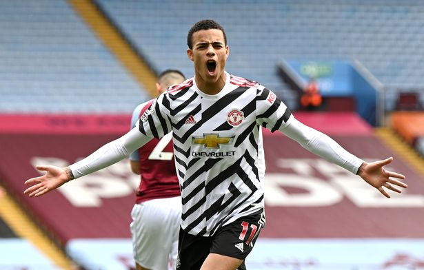 Mason Greenwood can operate as a right-winger or a central striker