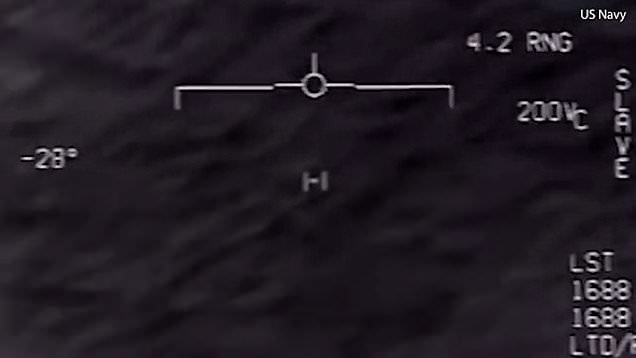 Official US Navy video shows 'UFO' tracked off East Coast in 2015