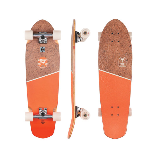 Sustainable skate brand Globe new Big Blazer 32? skateboard, E169.95, eu.globebrand.com, made from recycled coconut and bamboo, and even has a built-in bottle-opener. https://eu.globebrand.com/products/big-blazer-coconutmandarin?variant=32977190649910 GLOBE 32' Big Blazer skateboard 169.95 Euros https://eu.globebrand.com/