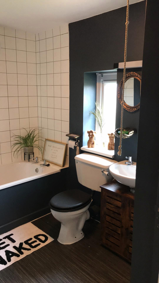 emma's bathroom after its makeover
