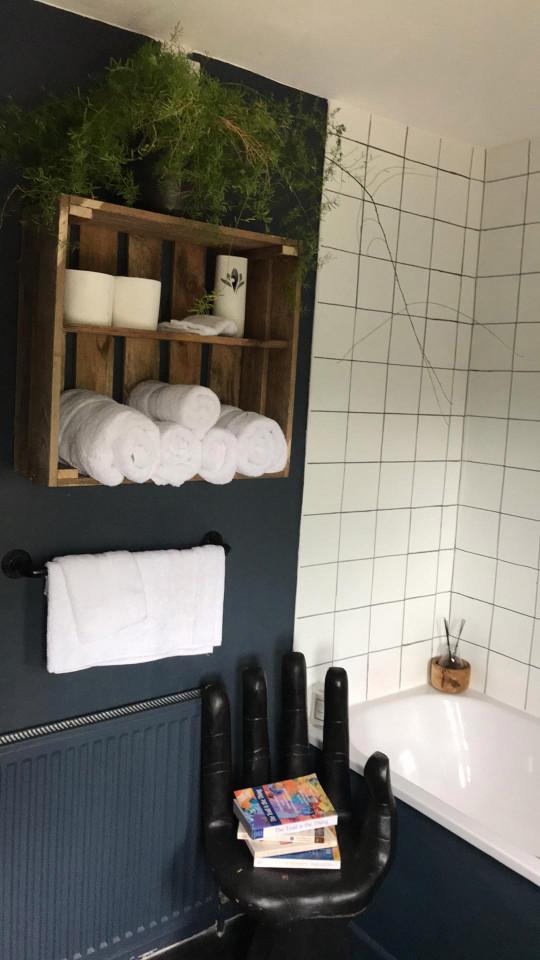 emma's bathroom after its diy makeover