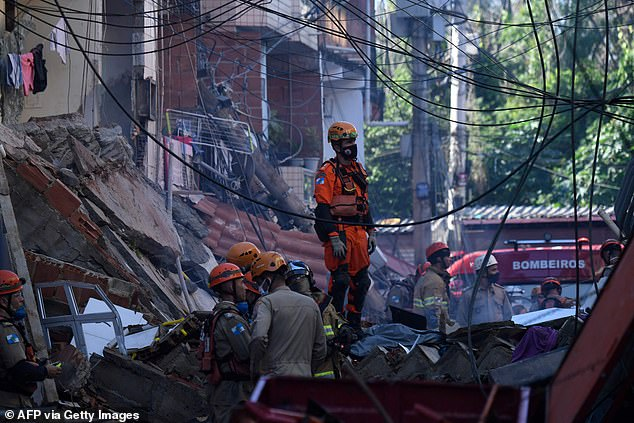 Authorities said the tragedy underlined the precarious state of many of the structures in the area