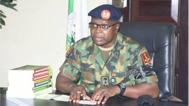 NYSC DG Brigadier General Shuaibu Ibrahim