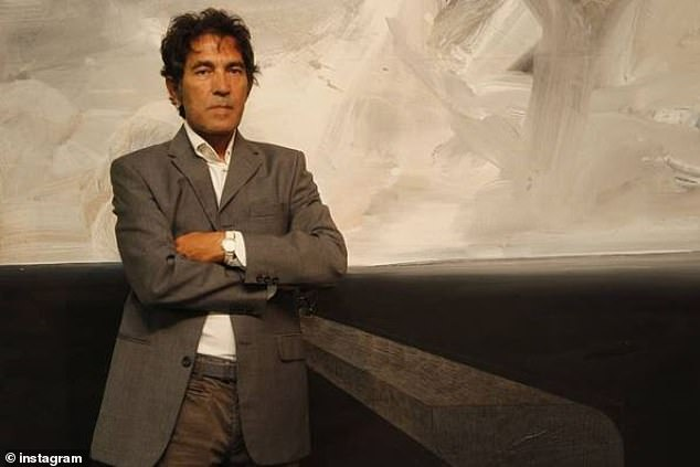 Sardinian-born Salvatore Garau, 67, sold the artwork, titled 'I am', to an unidentified buyer earlier this month (pictured, Garau in 2016)