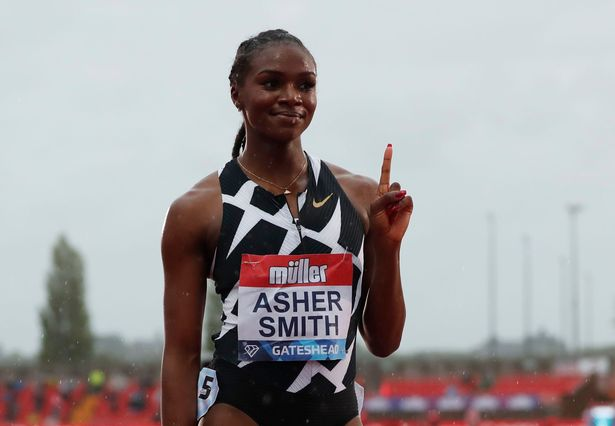 Dina Asher-Smith: Hengelo-bound after receiving first jab