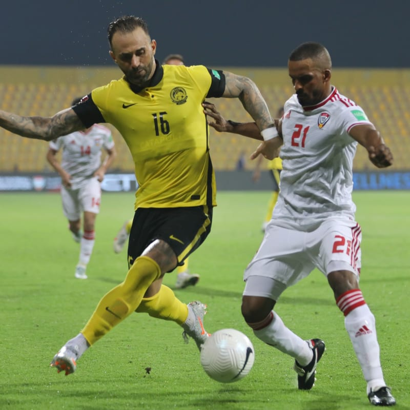 United Arab Emirates vs Malaysia, FIFA World Cup Qatar 2022™ qualifying