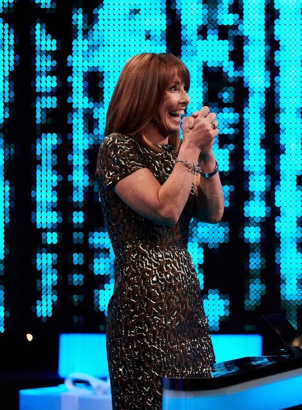 Kay Burley on a charity edition of The Chase over Christmas