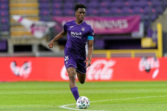 Anderlecht midfielder Sambi Lokonga is regarded as one of the best young players in Belgium