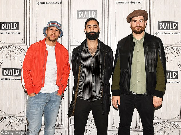 Newman, who has co-written and provided vocals on a range of Rudimental tracks, is fighting her claim alongside Rudimental band members Kesi Dryden, Piers Aggett and Amir Izadkhah (pictured)