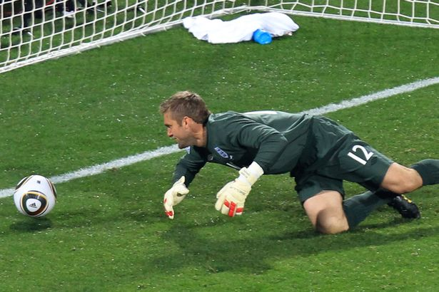 Rob Green's infamous error in the 2010 World Cup saw James come into the team