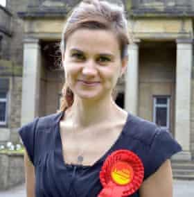 Murdered Labour MP Jo Cox in 2014