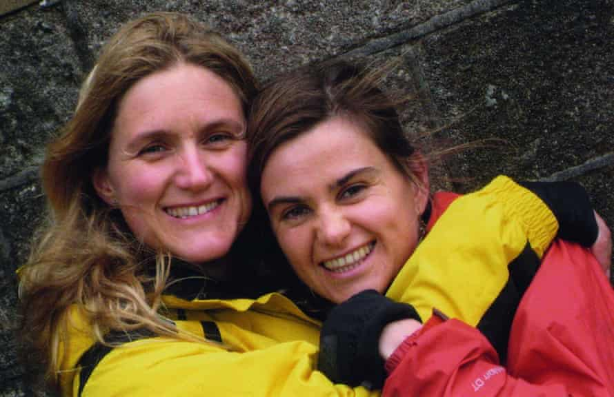 Kim Leadbeater and her sister, murdered MP Jo Cox, in 2009, on Cox's hen do in Howarth, West Yorkshire