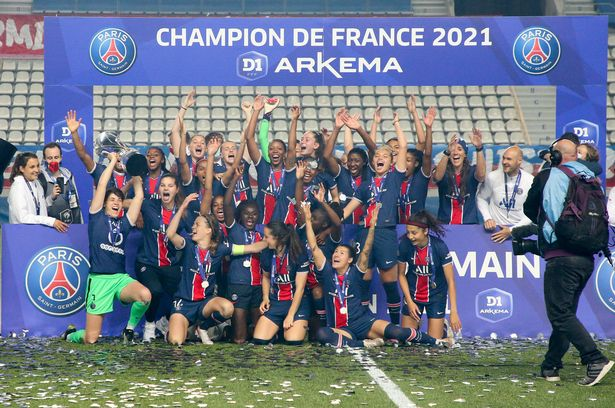 PSG won the title for the first time on Friday night